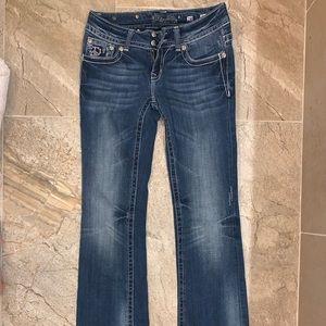 Miss Me denim jeans boot cut women's